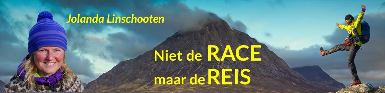 Niet de RACE maar de REIS - Jolanda Linschooten