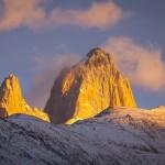 Cerro Fitzroy bij zonsopkomst