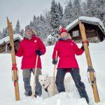 Klaar voor de skitocht op eigen houtjes