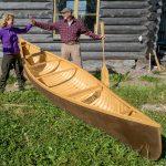 De kano is klaar!