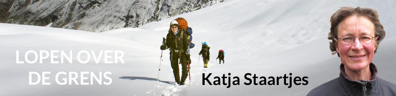 Katja Lopen over de grens