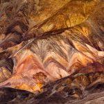 Atacama erosie landschap