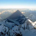 De schaduw van de K2