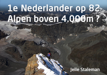 1e Nederlander op alle 4000'ers in de Alpen